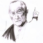 Adenauer-Skizze 2 – © Vanessa Hartmann