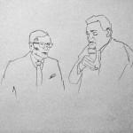 Augstein und Strauß im Gespräch – © Julia Grimm